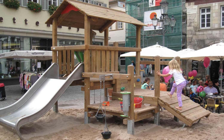 Sandbaustelle