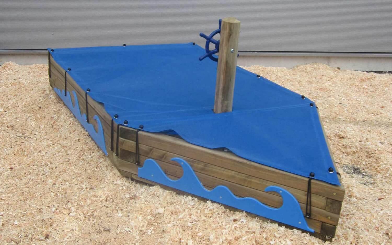 Sandkastenschiff