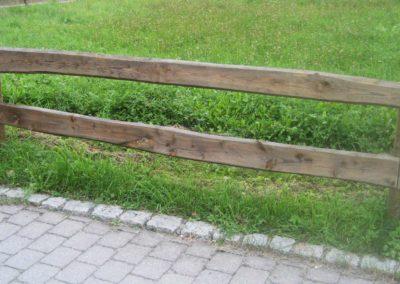 Bohlenzaun - standard