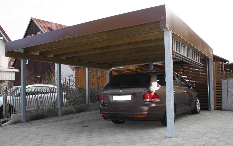 Carport_Stahlpfosten