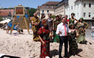Sommer-Spielplatz in Schwäbisch Gmünd eröffnet