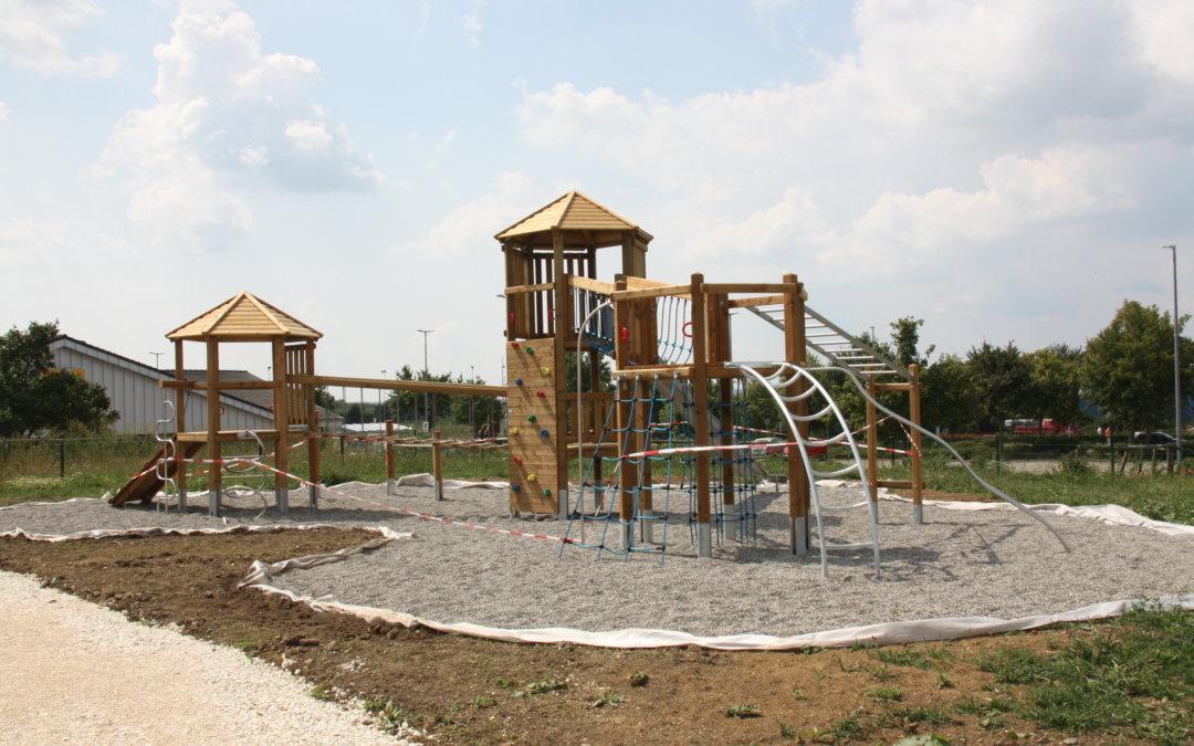 Neuer Spielplatz in Mögglingen