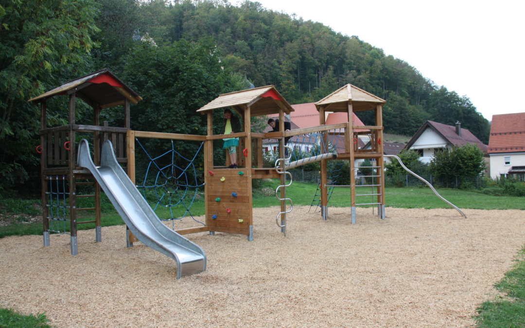Erweiterung eines Spielplatzes in Lauterstein